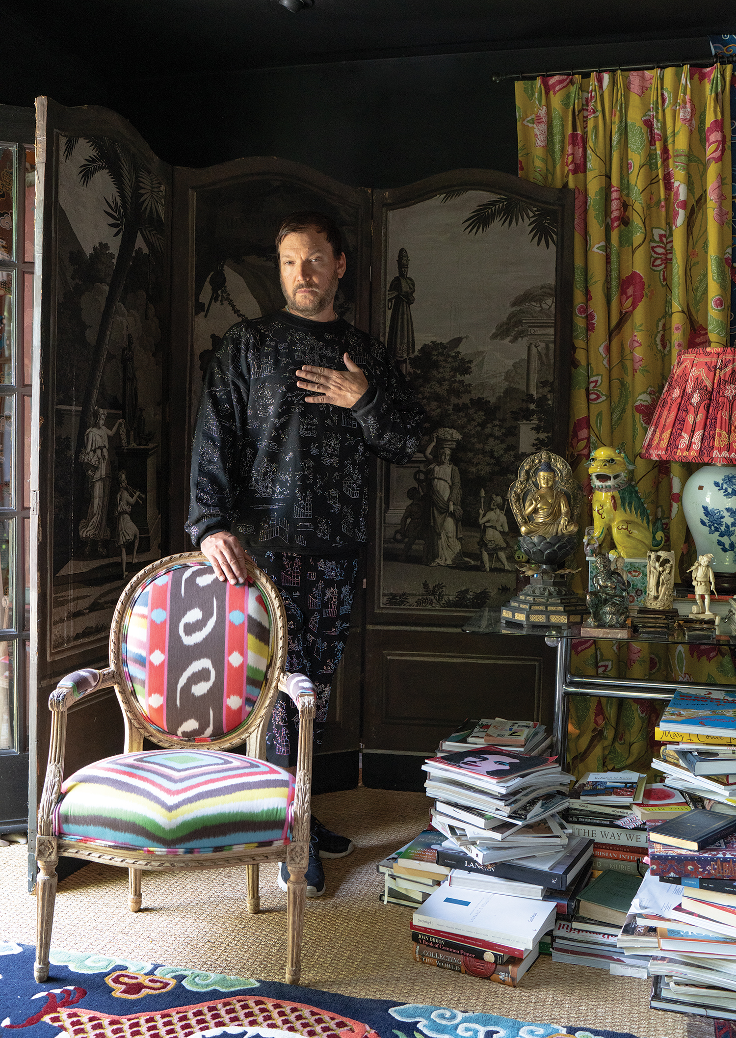 At Home With Johnson Hartig of Libertine (It's a Magical Place!)