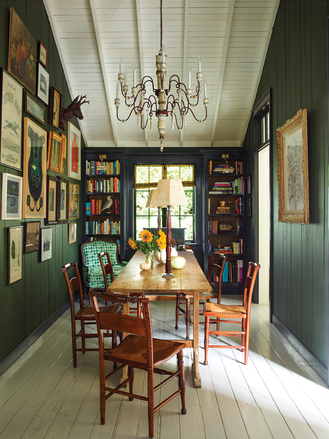The Power of Paint—and Enduring Colonial Style